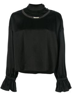 блузка с вырезными деталями  Fendi