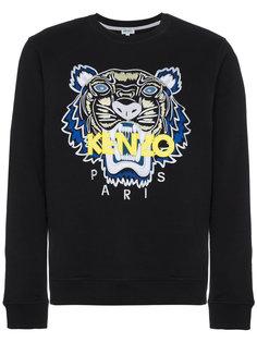 tiger applique sweatshirt Kenzo