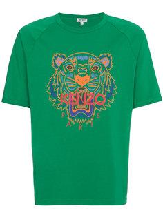 футболка с рукавами реглан с принтом  Kenzo