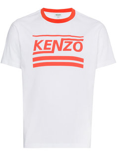 футболка в полоску с логотипом  Kenzo
