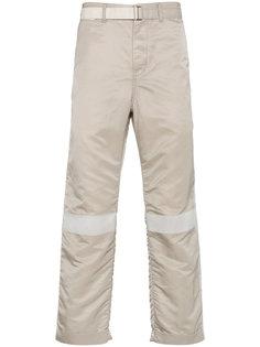 брюки MA-1 с поясом и контрастными полосами Sacai
