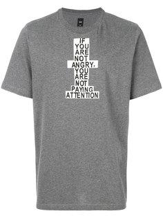 футболка с надписью Oamc