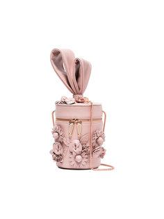 сумка через плечо с цветочной аппликацией Sophia Webster