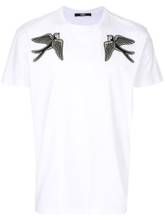 футболка Captain Karl с вышитыми птицами Karl Lagerfeld