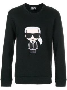 толстовка Karl Ikonik Karl Lagerfeld
