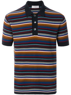 полосатая футболка-поло  Pringle Of Scotland