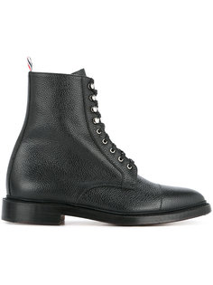 армейские ботинки на шнуровке Thom Browne