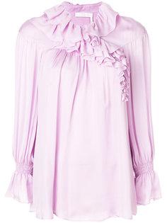 блузка с рюшами  Chloé