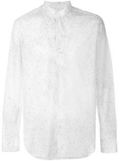 рубашка с принтом Ann Demeulemeester Grise