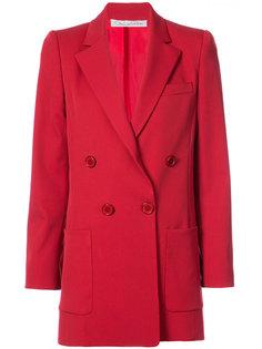 двубортное пальто  Oscar de la Renta