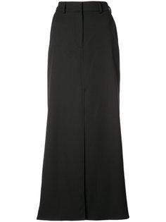 юбка макси с разрезом спереди  Oscar de la Renta