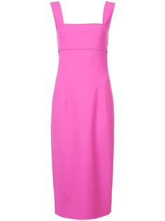 облегающее платье мини  Oscar de la Renta