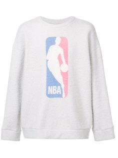 толстовка с логотипом NBA The Elder Statesman X Nba