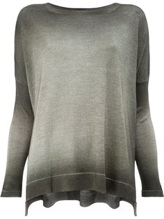 washed effect knitted top Avant Toi