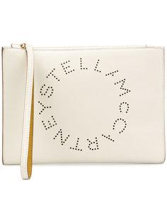 клатч с логотипом Stella  Stella McCartney
