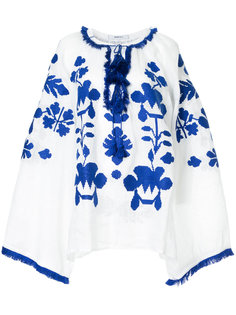 блузка с вышивкой и кисточками  March 11