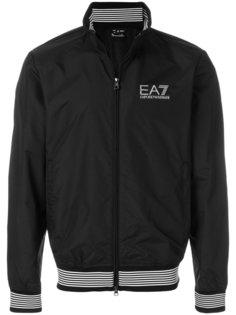 куртка-бомбер с логотипом Ea7 Emporio Armani