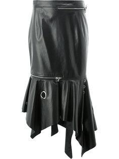 asymmetric zipped skirt Monse