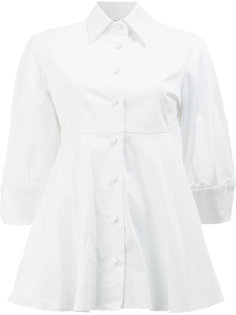 flared A-line shirt Alexis
