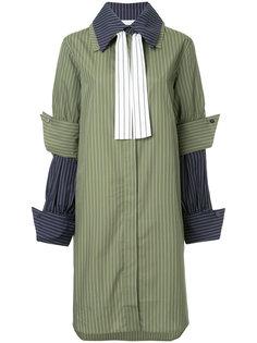 платье-рубашка в полоску  JW Anderson
