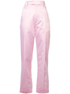 прямые брюки с отворотами Rosie Assoulin
