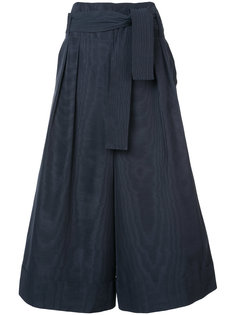укороченные брюки на завязках Adam Lippes