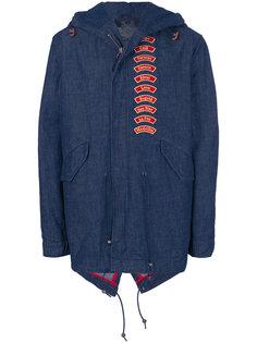 куртка с вышитыми деталями Mr & Mrs Italy