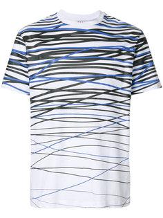 line print T-shirt  Les Hommes Urban