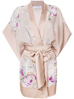 короткое кимоно с цветочным принтом Carine Gilson