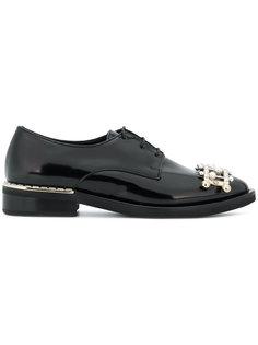 embellished lace-up shoes Coliac