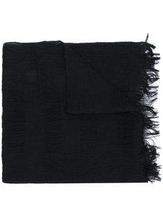 классический шарф с бахромой Homme Plissé Issey Miyake