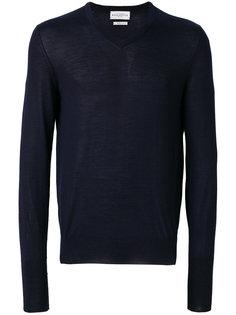 приталенный свитер с V-образным вырезом Ballantyne