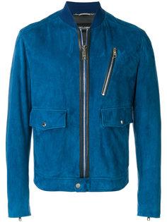 куртка-бомбер с накладными карманами Dolce & Gabbana