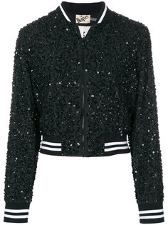 embellished bomber jacket  Alice+Olivia