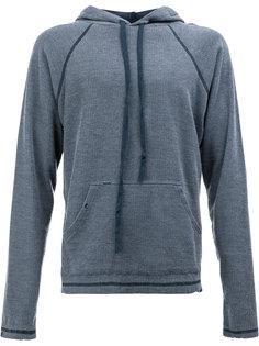 classic drawstring hoodie Greg Lauren