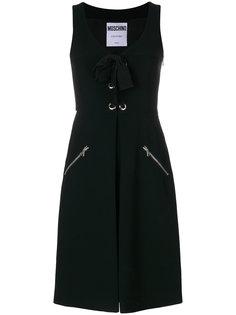 платье со шнуровкой Moschino