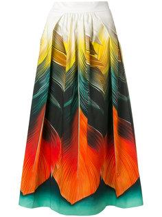 юбка с перьями Flight Mary Katrantzou