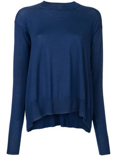свитер с закругленным подолом Stella McCartney