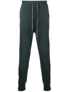 спортивные брюки с молниями Maison Mihara Yasuhiro