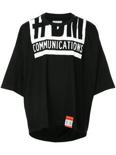 футболка с принтом Maison Mihara Yasuhiro