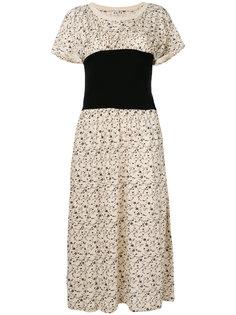 floral print midi dress Aalto