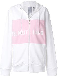 куртка с капюшоном на молнии Helmut Lang