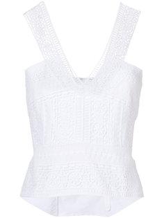 ажурная блузка  Alberta Ferretti