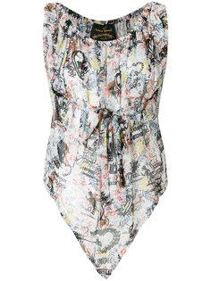 блузка с узором Vivienne Westwood Anglomania