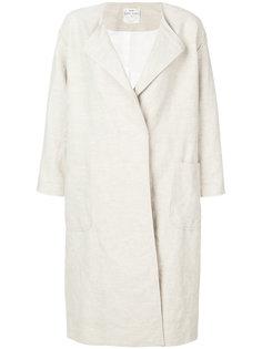 двубортное пальто мешковатого кроя  Forte Forte