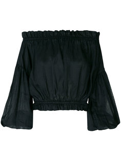блузка с открытыми плечами Vivienne Westwood Anglomania