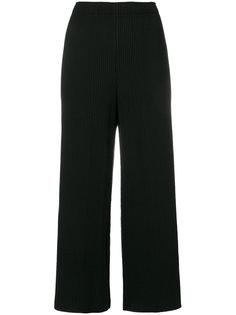 укороченные плиссированные брюки Issey Miyake Cauliflower