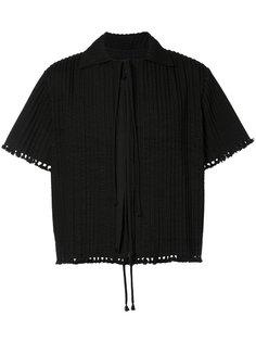 рубашка с короткими рукавами и необработанными краями Craig Green