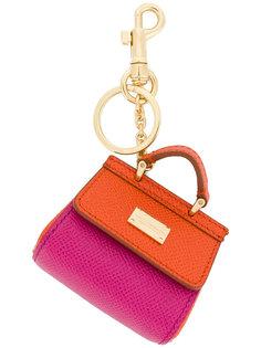 брелок для ключей в форме сумки St Dauphine Dolce & Gabbana