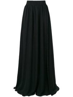 длинная юбка с завышенной талией  Fausto Puglisi